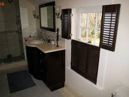 vertical configuration of interior shutters