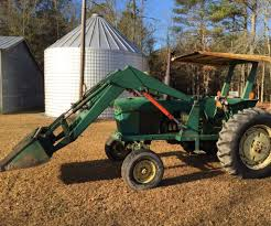 early john deere 3020 powershift front end loader hydraulic re