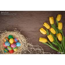 painted eggshells painted eggshells photo background yellow tulips easter day
