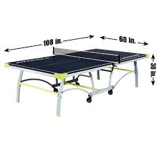 dunlop official size table tennis table walmart com