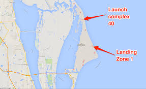 Time Zone Google Map by Pictures Of Spacex U0027s Cape Canaveral Landing Pad Business Insider