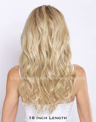Blonde Hair Extensions Clip In by Cashmere Hair Sunset Blonde Clip In Hair Extensions 179 95