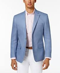 Light Blue Jacket Mens Mens Blazers U0026 Sports Coats Macy U0027s