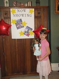 punkin seed productions movie themed birthday slumber party for a