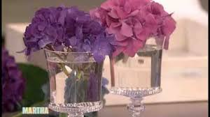 table top flower arrangements small tabletop hydrangea arrangements martha stewart