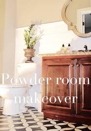 Powder Room Makeovers Photos - powder room makeover remington avenue