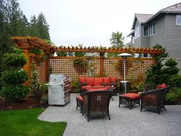 Small Backyard Ideas Landscaping Brilliant Decoration Backyard Privacy Ideas Pleasing Small