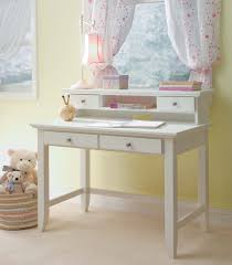 White Desk With Hutch And Drawers White Stained Oak Wood Desk With Drawers And Square
