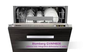 the blomberg gvn9483e dish washer from the kitchen appliance store