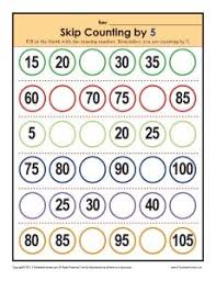 Count By 5 Worksheets Printable Free Best Solutions Of Skip Counting By 5 Worksheets 2nd Grade For