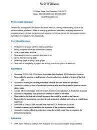 Customer Service Resume Samples 2014 Production Assistant Resume Template Resume For Your Job Application