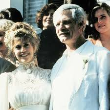 jane fonda wore dress from film set to marry ted turner