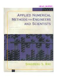 rao 00 pdf applied numerical methods for engine pdf numerical