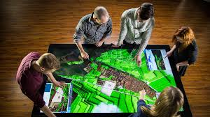 Touch Screen Coffee Table by Colossus Multitouch Table With 86