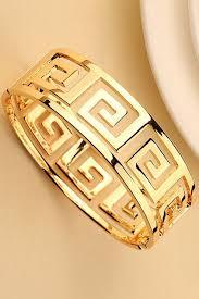 golden cuff bracelet images Romwe spiral diamonds cuff bracelet the latest street fashion jpg
