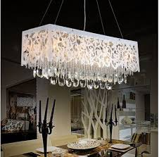 Rectangle Dining Room Light Interesting Rectangular Chandelier Dining Room Ideas