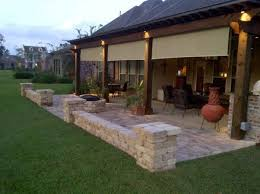 Patio Design Ideas For Your Beautiful Garden Hupehome by Stairs Firepit Paver Patio With Travertine Back Yards Patio
