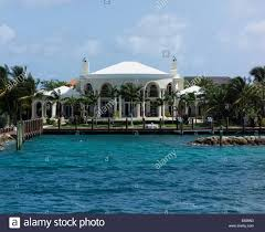 Oprah Winfrey Homes by House Of Oprah Winfrey Paradise Island The Bahamas Stock Photo