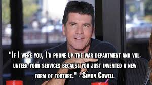 Simon Meme - simon cowell photos simon cowell s most brutal insults on