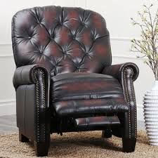 Brown Leather Recliner Shop Recliners At Lowes Com