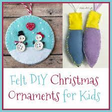 felt diy ornaments for startsateight