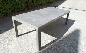 concrete patio dining table dining room concrete outdoor dining table and with room stunning