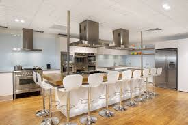 kitchen designs with islands and bars black and white kitchen kitchen islands with seating high silver