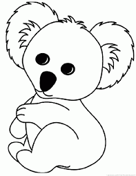 amazing koala coloring page nice colorings des 6742 unknown