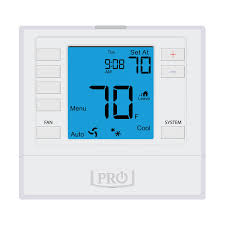 pro1 t755 5 1 1 or non programmable thermostat 3h 2c with 6