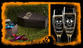Halloween Wedding Favor Ideas by Halloween Wedding Favors