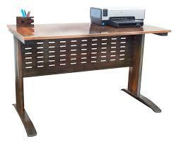 computer and printer table vintage inspired computer printer desk urban 9 5