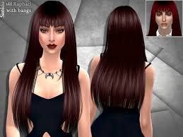 sims 4 hair cc sims 4 hair long