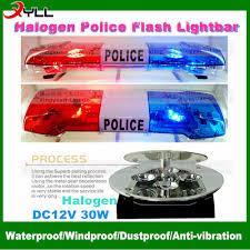 The Best Led Light Bar by Dc 12v Factory Price Halogen Police Light Bar Flash Warning Led