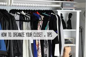 how to organize your closet tips closet tour youtube