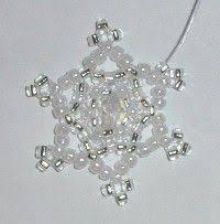 beaded snowflakes pattern http www ecrafty casearch aspx