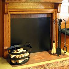 fireplace draft guard binhminh decoration