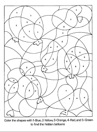 printable color by number coloring pages best colour numbers