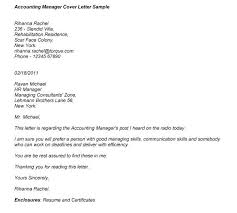 cover letter sample for accounting manager 8 years