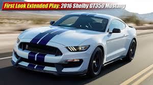2016 Cobra Mustang First Look Extended Play 2016 Shelby Gt350 Mustang Testdriven Tv