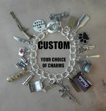 customized charms custom your plan charm bracelet for the walking dead