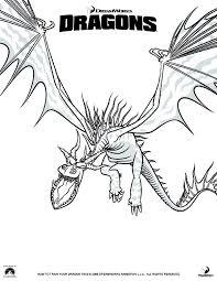 coloring train dragon 1