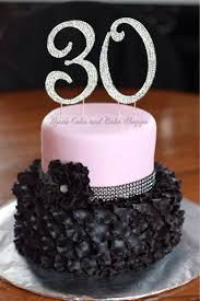 birthday party themes for 30th birthday cake with beautiful
