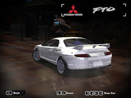 mitsubishi fto wide body need for speed most wanted mitsubishi fto nfscars