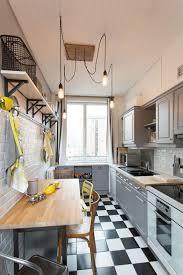 cuisine bois peint cuisine bois des cuisines tendance à copier cuisine en bois