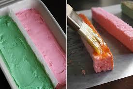 spring battenburg cake sprinkle bakes
