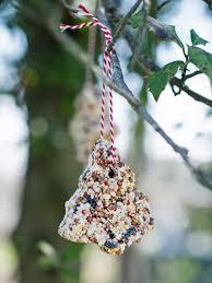 craft bird seed ornaments hgtv