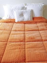 Comforter Orange College Plush Comforter Orange Ochre Twin Xl Dorm Comforter