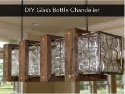 Diy Bottle Chandelier Make It I Dare You Diy Glass Bottle Chandelier Bottle