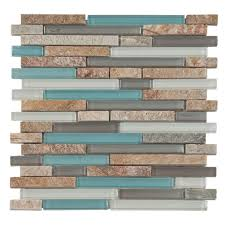 Tile Backsplash For Kitchen by Santiago Glass I Would Love This Color Palette For My Kitchen