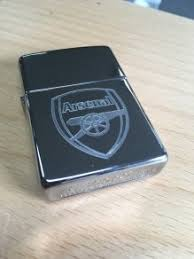 arsenal zippo lighter zippo lighter arsenal logo in wicklow town wicklow from stan and tonys